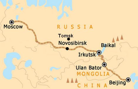 Trans-mongolian line