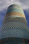 The landmark tower of Khiva