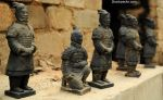Little copies of terracota soldiers