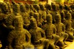 Little copies of the terracota soldiers